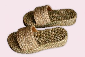 Pletene papuče sa platformom – Lady